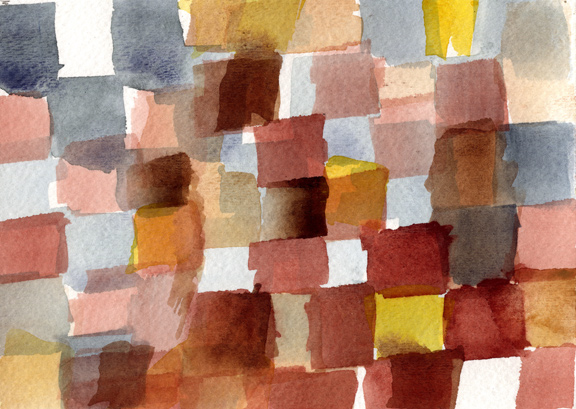 Watercolor Grid Two