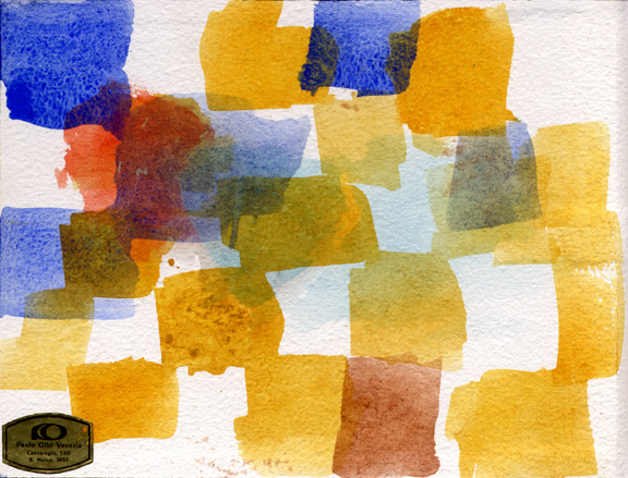 Watercolor Grid Three