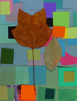 Leaf Collage I